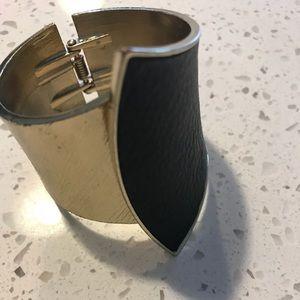 Jewelry - Black and Gold Cuff Bracelet